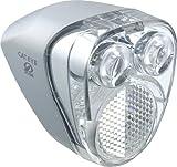 キャットアイ(CAT EYE) ヘッドライト [HL-HUB100] ハブダイナモ用LEDヘッドライト シルバー