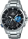 [カシオ]CASIO 腕時計 EDIFICE TIME TRAVELLER スマートフォンリンクモデル EQB-600D-1A2JF メンズ