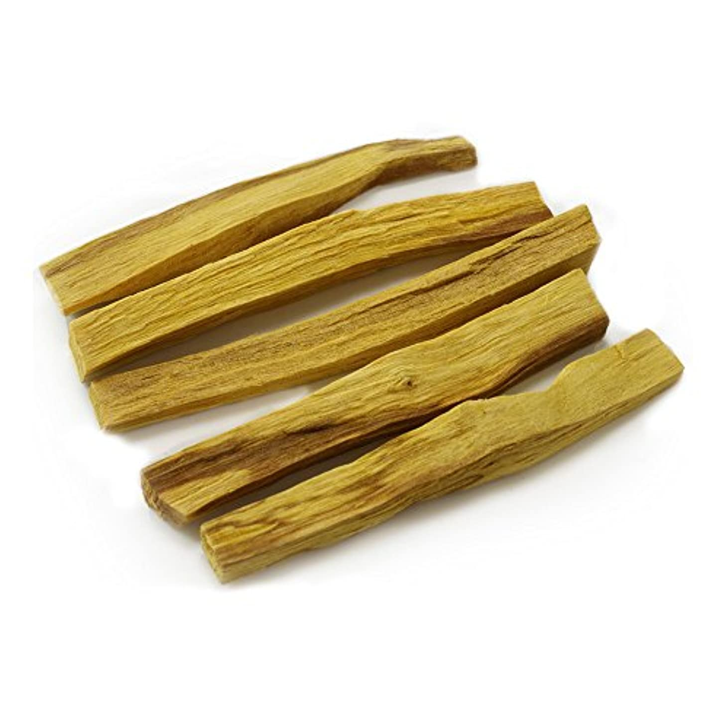 デンプシー透ける意気揚々Palo Santo Holy Wood Incense Sticks 5 Pcs by Palo Santo Wood