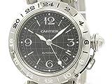 [カルティエ]Cartier【CARTIER】カルティエ パシャC メリディアン GMT ステンレススチール 自動巻き ユニセックス 時計W31079M7(BF303676)[中古]