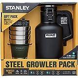 StanleyクラシックGrowler 2qtと冒険スタッキングスチールTumblers set-matte 10–02116–016