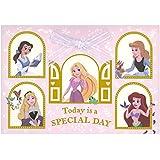 バースデーカード ディズニー プリンセスたちからお祝い EAR-770-129 ホールマーク 立体カード リボン付き 飛び出す Birthday Card お誕生お祝い