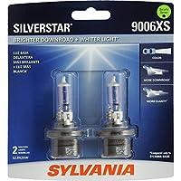 SYLVANIA 9006XS SilverStar高性能ハロゲンヘッドライトバルブ(2個入り)