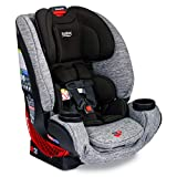 Britax One4Life ClickTight All-In-One Car Seat – 10 Years of Use – Infant, Convertible, Booster – 5 to 120 Pounds, Spark [Amazon Exclusive]