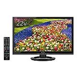 シャープ 22V型 液晶 テレビ AQUOS LC-22K40-B フルハイビジョン 外付HDD対応(裏番組録画) ブラック 2016年モデル