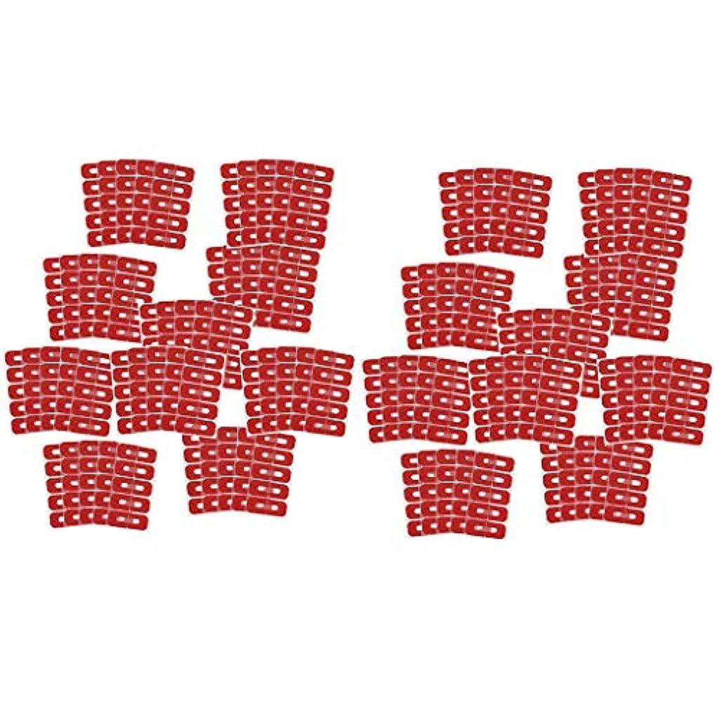 正確な抗生物質いらいらさせるDYNWAVE ネイルカバー ネイルプロテクター 溢れを防止 ネイルクリップ ネイルアートツール 使い捨て