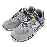 [ニューバランス] メンズ スニーカー シューズ ライフスタイル 運動靴 ML574 (26cm, GREY/BLUE(049))