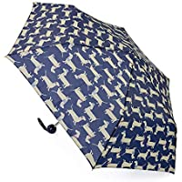 Drizzles Womens/Ladies Dachshund Dog Compact Umbrella (UK Size: One Size) (Dark Blue)