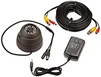 Security Labs SLC-1054 Security Labs Slc-1054 Turret Dome Camera with 24 IR Leds (Black) by Security Labs