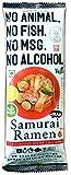 動物・魚介由来成分、アルコール、化学調味料不使用 Samurai Ramen UMAMI サムライラーメン旨味 2人前×1袋