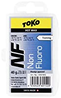TOKO(トコ) スノーボード スキー用 ワックス ホットワックス NF 純パラフィン ブルー 40g 5501003