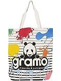 gramo(グラモ) エコバッグ seed-splash B-032 Fサイズ ナチュラル