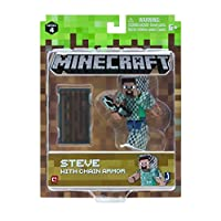 Minecraft Steve in Chain Armor Figure Pack Action [並行輸入品]