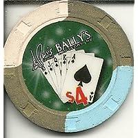 $ 4 Ballysパリワールドシリーズof Poker Casino Las Vegasカジノチップ