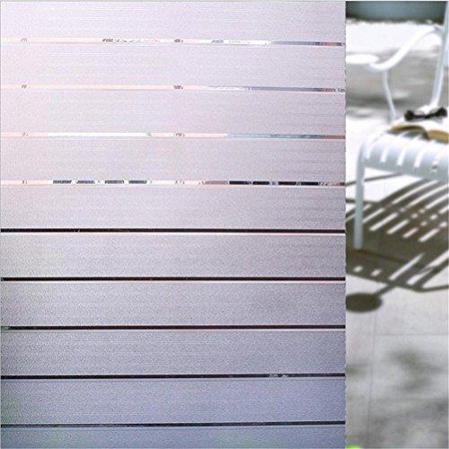 RoomClip商品情報 - Cviclover 窓 めかくしシート ベランダ目隠し 装飾 遮光 窓用フィルム 断熱 紫外線カット ガラスフィルム 無接着剤 再利用可能 (幅45cm*長さ200cm, NO.C2CT)