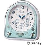 SEIKO CLOCK(セイコークロック) ディズニー アナと雪の女王 ディズニータイム クオーツ目覚まし時計(白パール塗装) FD475W FD475W