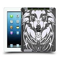 Head Case Designs ウルフ Animal Wood Prints ハードバックケース Apple iPad 3 / iPad 4