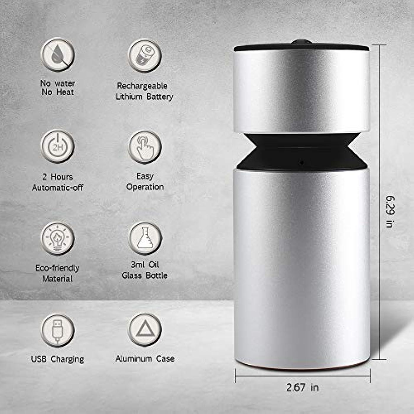 ユニークな道路コミット噴霧オイルディフューザー、超音波アロマディフューザー、ミニ3.0 USB充電式ネブライザーアロマアロマアロマ