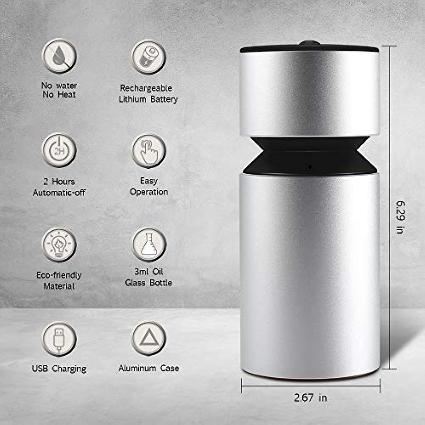 する必要がある断線エッセンス噴霧オイルディフューザー、超音波アロマディフューザー、ミニ3.0 USB充電式ネブライザーアロマアロマアロマ