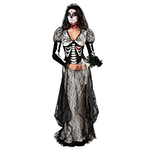 死の花嫁 大人用 コスチューム♪ハロウィン♪サイズ:X-Large