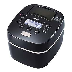 タイガー 炊飯器 土鍋圧力IH 「炊きたて」 5.5合 ブラック JKX-G100-K