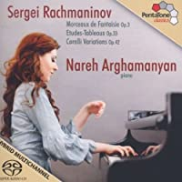 Rachmaninov: Morceaux de Fantaisie, Op.3 [Hybrid SACD + DVD] by Nareh Arghamanyan (2012-04-24)