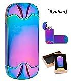 「Ryohan」電子プラズマライターUSB充電強風でも使えるライター