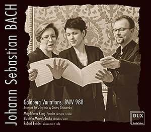 (String Trio)goldberg Variations: Kling-fender(Vn) Mrozek-loska(Va) Fender(Vc)