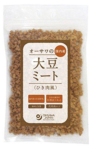 オーサワの国内産大豆ミート(ひき肉風)
