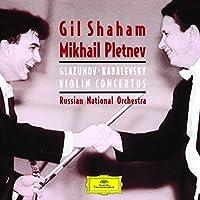 グラズノフ/カバレフスキー:ヴァイオリン協奏曲