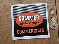 Commer Sticker ステッカー シール デカール 海外限定 100mm x 95mm