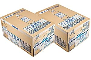 [2CS] サンガリア 伊賀の天然水 炭酸水(500ml×24本)×2箱