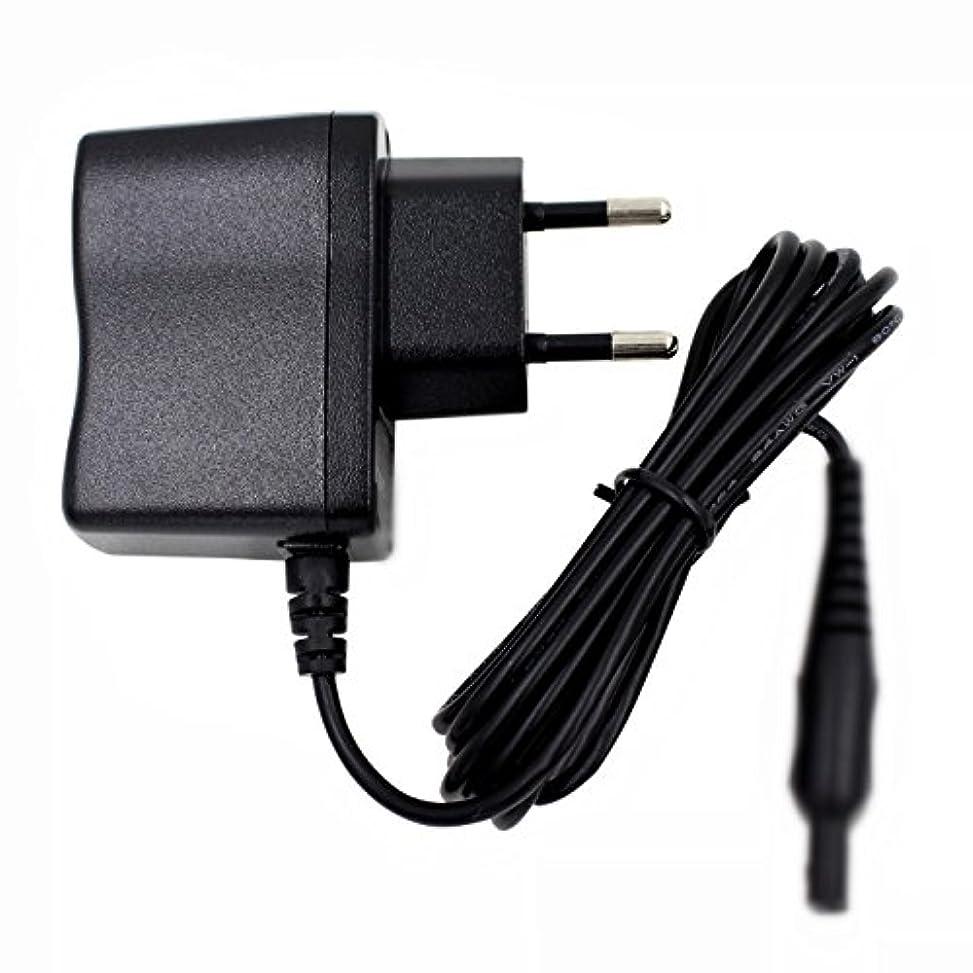 実装する賛美歌高くFidgetGear フィリップスシェーバーHQ7363 HQ7380 HQ7390 HQ7415のためのEUのアダプターの充電器の電源