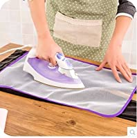 Generic 2 pcs Japanese high temperature ironing cloth ironing pad protective insulation against hot household ironing mattress