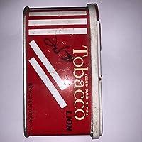 ② 色あせが違いますライオン 歯磨き タバコライオン LION ToBacco 昭和 当時物 中身使用 160g 写真を確認してください