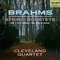 Brahms: Quartets In A Minor & C Minor by Cleveland Quartet (1994-07-26)