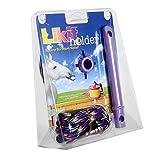 (リッキット) Likit 馬用 リックホルダー おやつ入れ おもちゃ ペット用 (ワンサイズ) (パープル)