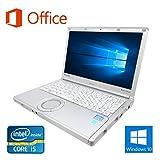 【Microsoft Office 2016搭載】【Win 10搭載】Panasonic CF-NX1/次世代Core i5 2.5GHz/メモリー4GB/新品SSD:120GB/新品外付けDVDスーパーマルチ/12.1インチ/無線LAN搭載/USB 3.0&HDMI/中古ノートパソコン (新品SSD:120GB)