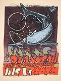 Stnnng&Dianogah 27/01/07限定版シルクスクリーンプリント音楽ポスター-ジェイ・ライアンオリジナルサイン入り、番号付きフィーチャー:Stnnng、Dianogah、Child Bite