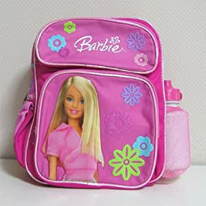 Barbie(バービー)ボトル付きリュックサック(中・ピンク) [Baby Product]