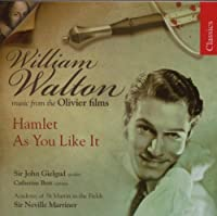 Hamlet As You Like It: Music From Olivier Films by WILLIAM WALTON (2007-09-11)