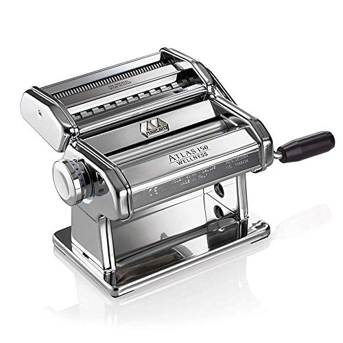 Brand New Marcato Pasta Noodle Maker Machine Atlas Model 150 Silver