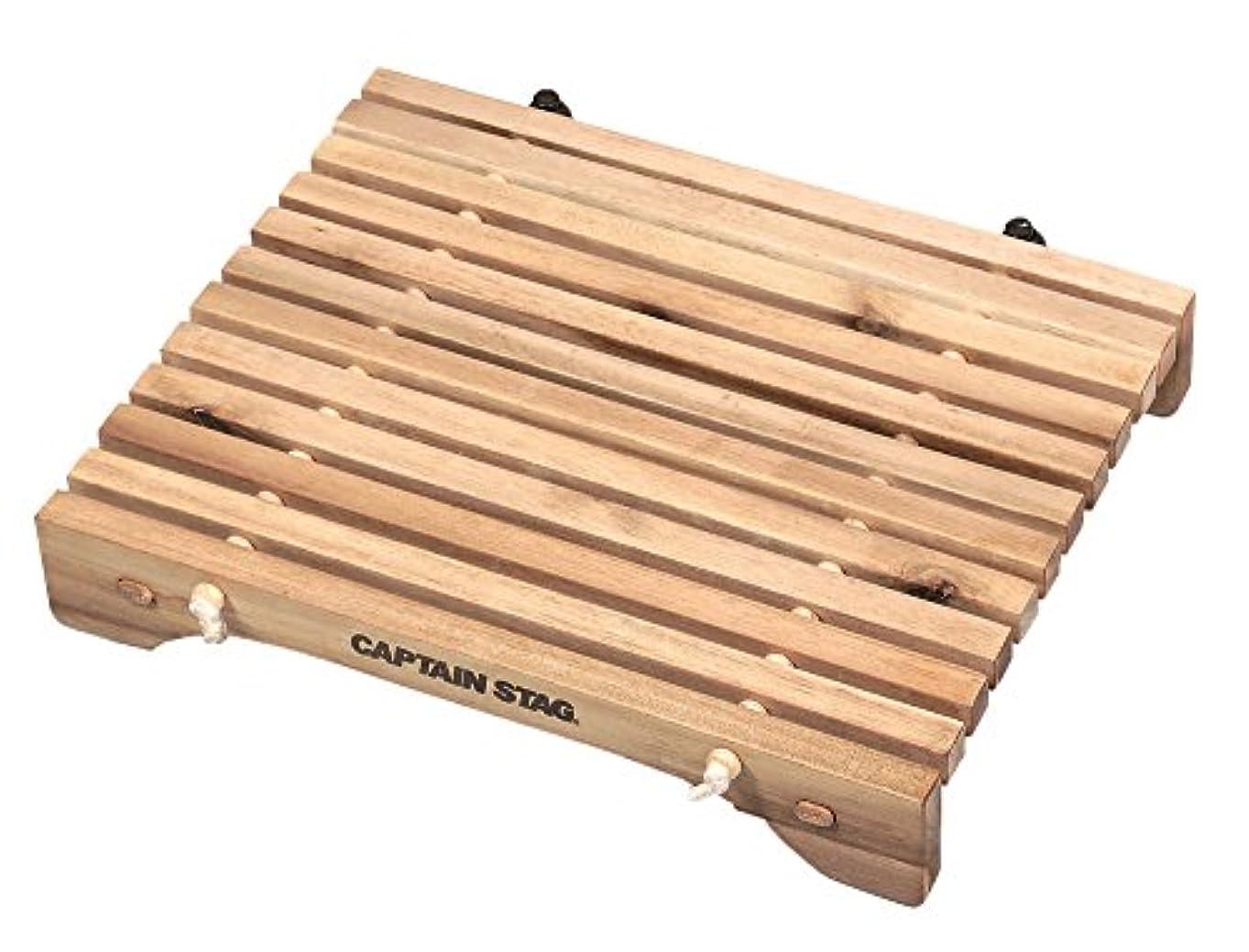 カンガルー大学生原理キャプテンスタッグ(CAPTAIN STAG) キャンプ バーベキュー用 机 テーブル CSクラシックス コンパクトロールテーブル 31×21cm