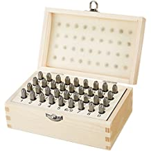 AmazonBasics Metal and Leather Stamp Kit - 5/32-Inch