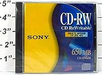 Sony CD - RW書き換え可能CDマルチ速度1x 2x 4x 650MB