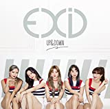 UP&DOWN [JAPANESE VERSION] EXID 歌詞