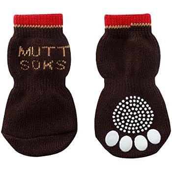 犬用靴下 MUTTSOKS (マットソックス) S 4個入り [並行輸入品]