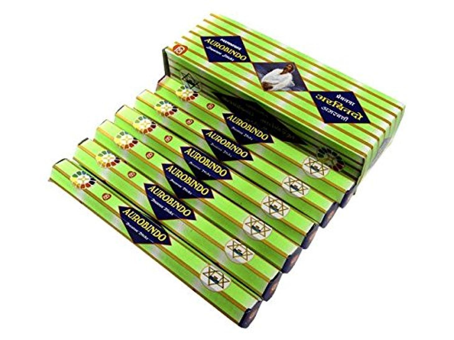 一般的に言えば柱人気のANANTH(アナンス) オーロビンド香 スティック AUROBINDO 6箱セット
