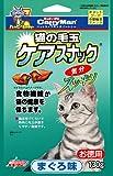 ドギーマン 猫用おやつ 猫の毛玉ケアスナック まぐろ味お徳用 130g