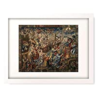 Tapisserie,Brussel um 1530 「Allegorie der Hoffnung.」 額装アート作品